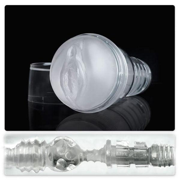Âm đạo giả đèn pin trong suốt Ice Fleshlight chính hãng